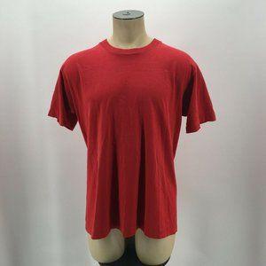 VTG Fruit Of The Loom Basic Tee Shirt Single Stitc
